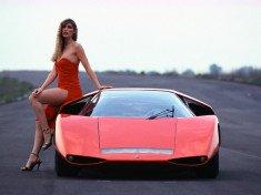 Pininfarina Fiat Abarth 2000 Scorpio tanulmány 1970-ből