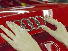 Audi, gyár, gyártás, Audi logó, autógyár
