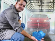 Marke Volkswagen produziert Autos 25 Prozent umweltfreundlicher