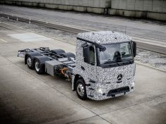 Daimler eTrucks Campus; urbaner Transport der Zukunft; Elektromo