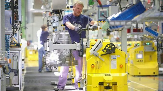 német feldolgozóipar