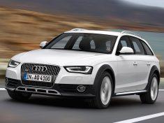 Audi A4 allroad quattro/Fahraufnahme