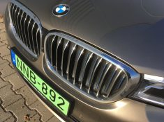 zöld rendszám, BMW