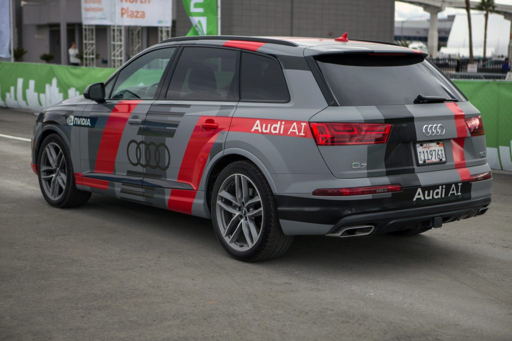 Audi Q7 Piloted Driving Concept