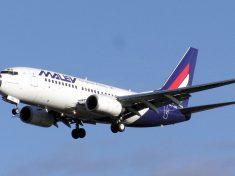 A Malév is Boeing 737-esekkel járt
