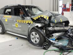 Mini törésteszt, EuroNCAP, Mini