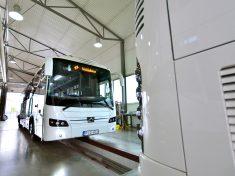 2017-09-22 Credo Inovell autóbusz átadása a győri autóbuszgyárban - Kravtex-Kühne Csoport