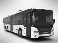 Scania busz