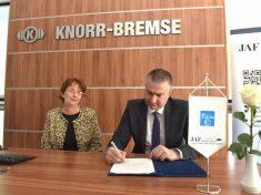 A Knorr-Bremse Fékrendszerek Kft. csatlakozott a JAF-hoz