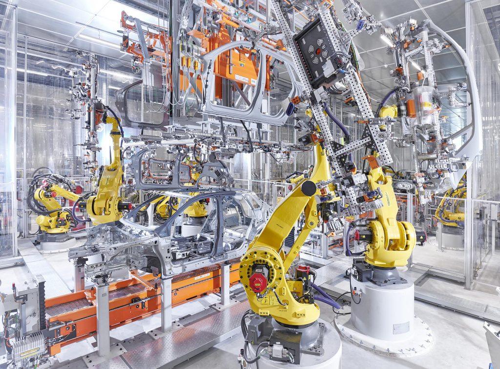 Audi Q3 gyár