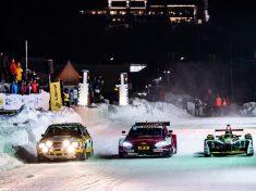 Audi, jégen, tél,