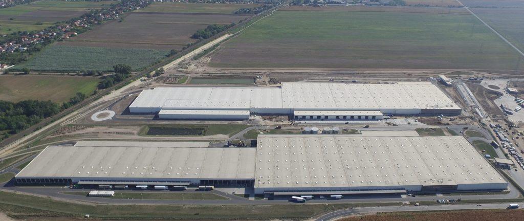 audi gyár logisztiikai központ
