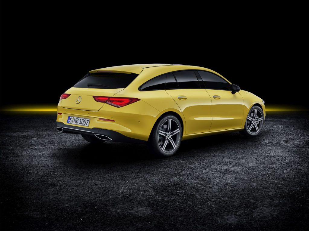 Mercedes-Benz CLA Shooting Brake, X118, 2019 // Mercedes-Benz CL