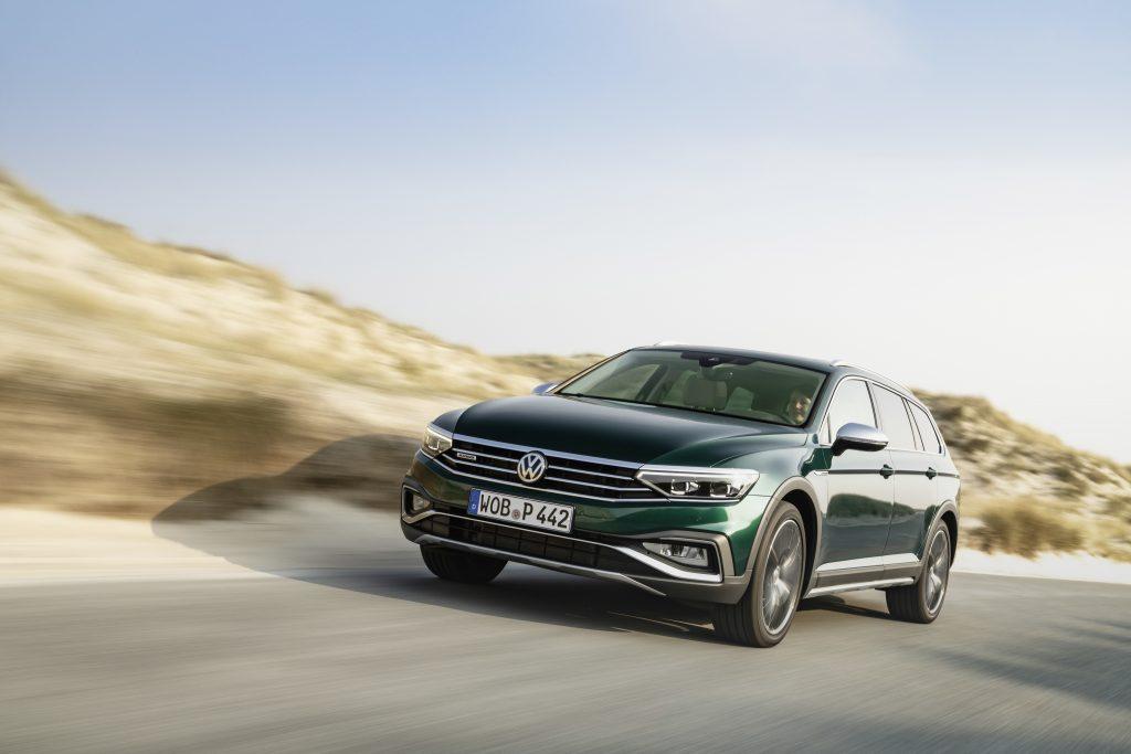 The nw Volkswagen Passat Alltrack