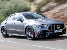 The new Mercedes-AMG performance compact cars Madrid 2019