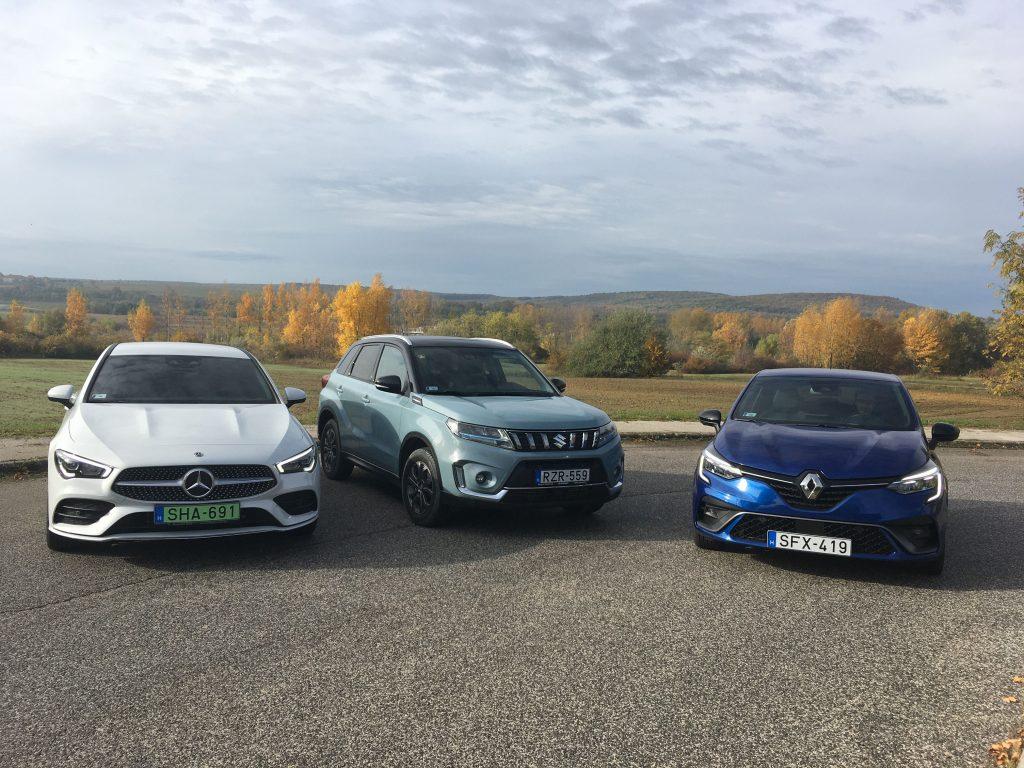 Üde színfolt volt a magyarok között a Renault