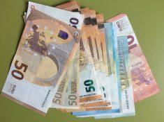átlagbér, euró
